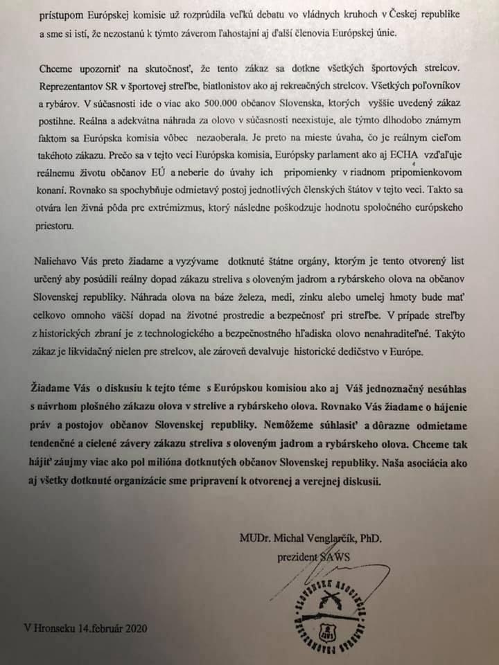 výzva Slovenskej Asociácie Westernovej Streľby